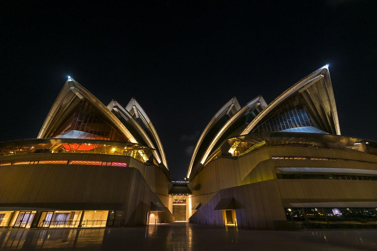 Australia, Sydney, city, cityscape, night sky, nighttime, opera house, waterfront, photo