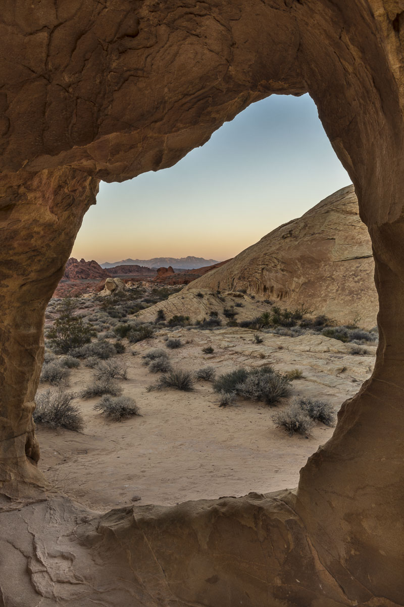 Nevada, Valley of Fire State Park, desert, evening, landscape, winter, photo