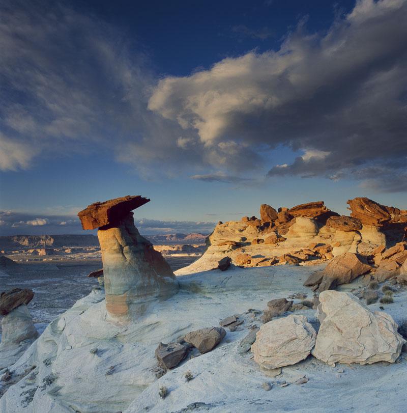 Arizona, Glen Canyon National Recreation Area, Hasselblad, Spring, desert, film, landscape, photo