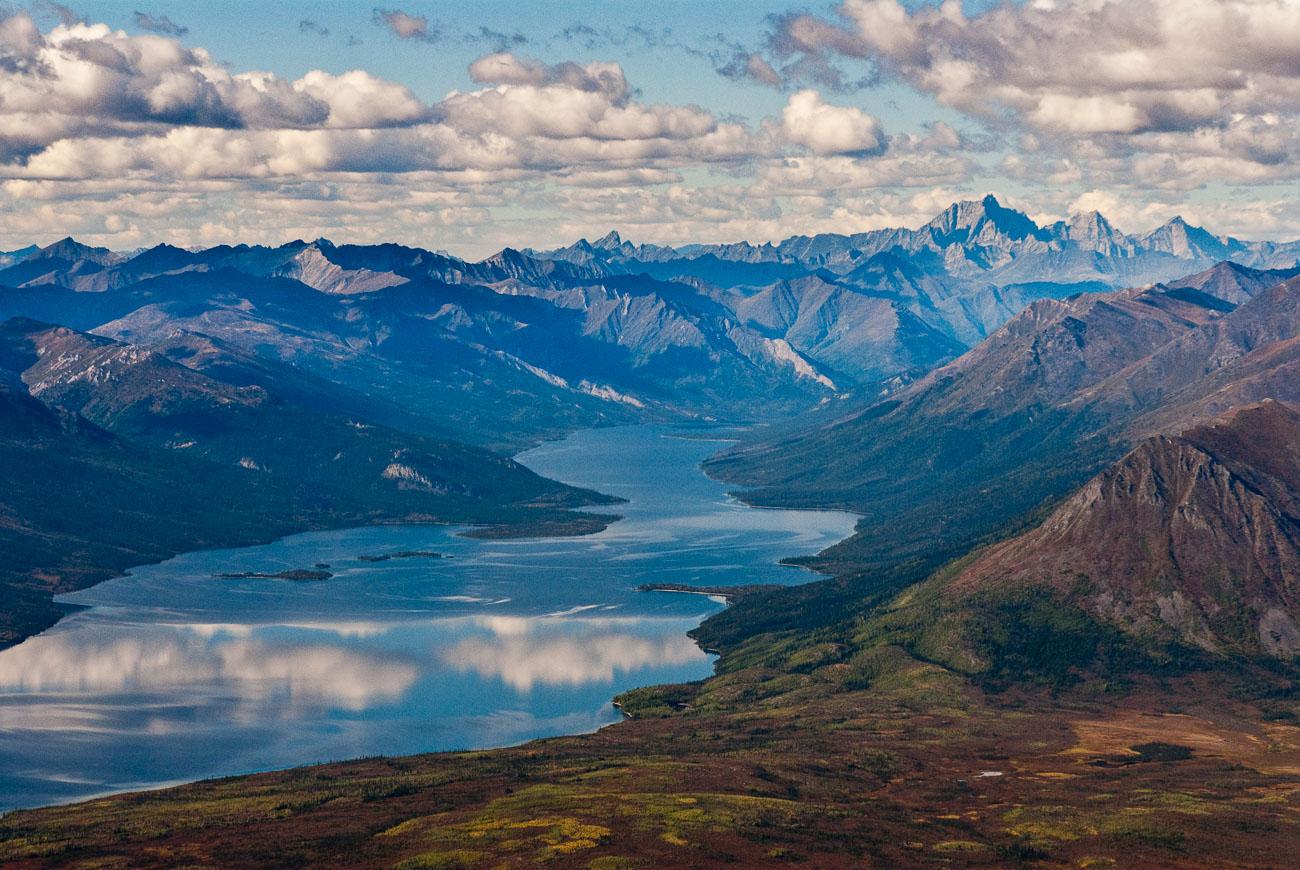 Walker Lake and Mount Igikpak, Gates of the Arctic National Park & Preserve