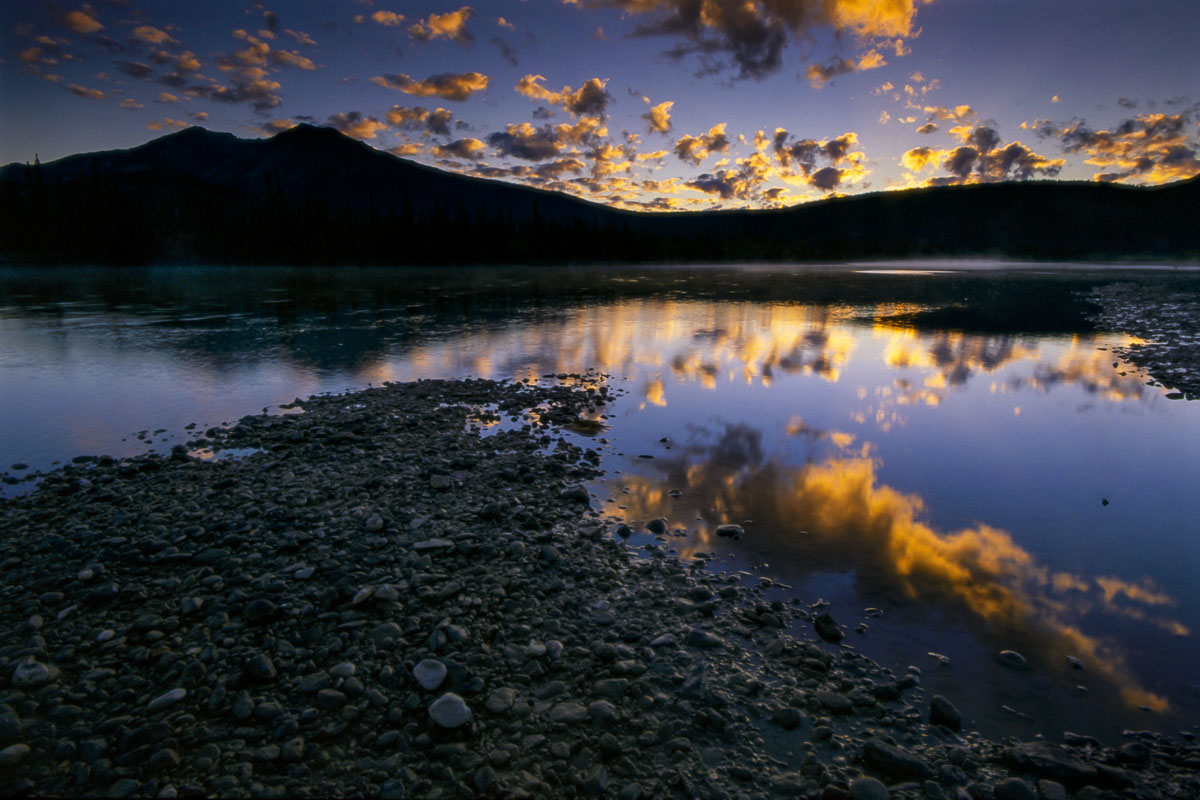 Alaska, Alatna River, Arctic, Brooks Range, blue, landscape, morning, sunrise, photo