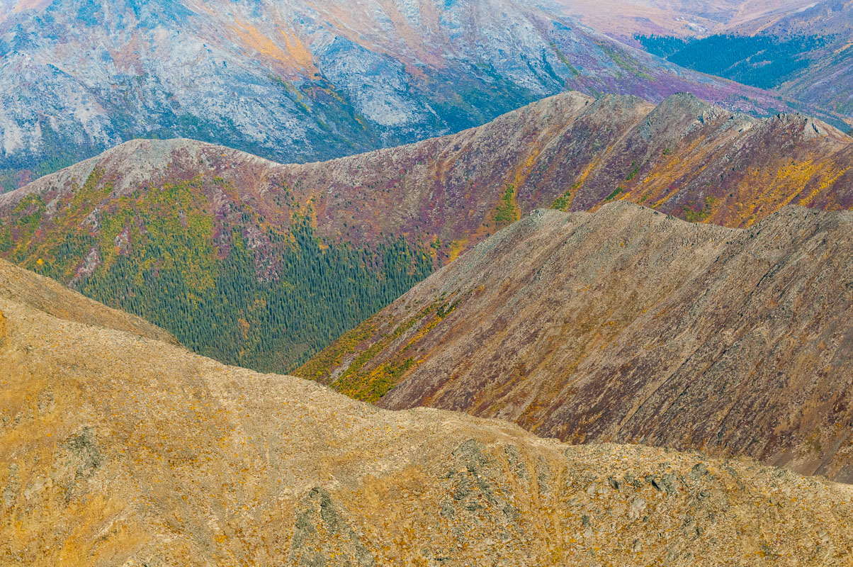 Alaska, Arctic, Autumn, Brooks Range, Gates of the Arctic National Park & Preserve, aerial, landscape, national park, photo