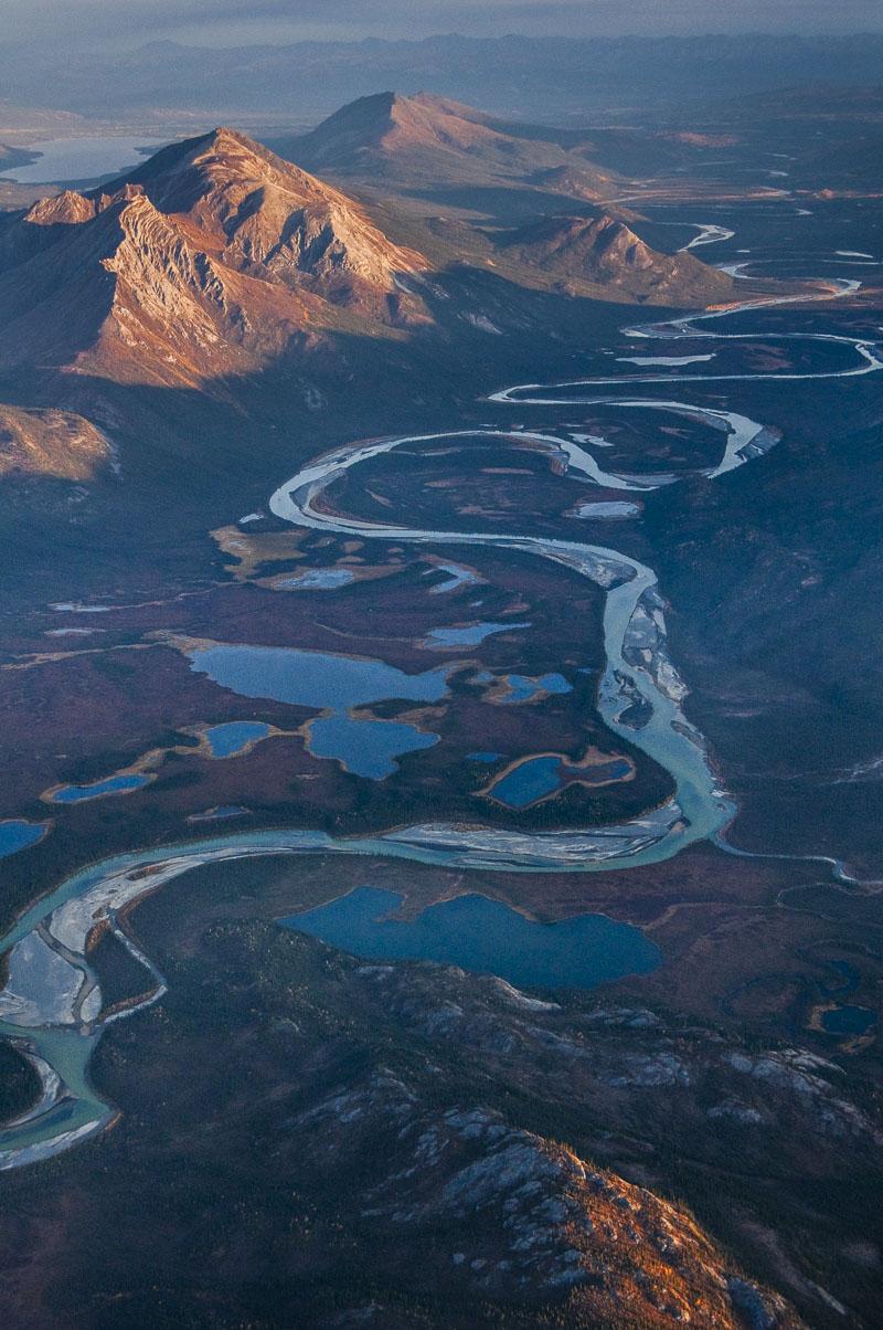 Alaska, Alatna River, Arctic, Autumn, Brooks Range, Gates of the Arctic National Park & Preserve, aerial, landscape, national park, photo